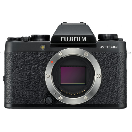 Fujifilm X-T100 (Black) [Free 32GB SD Card]