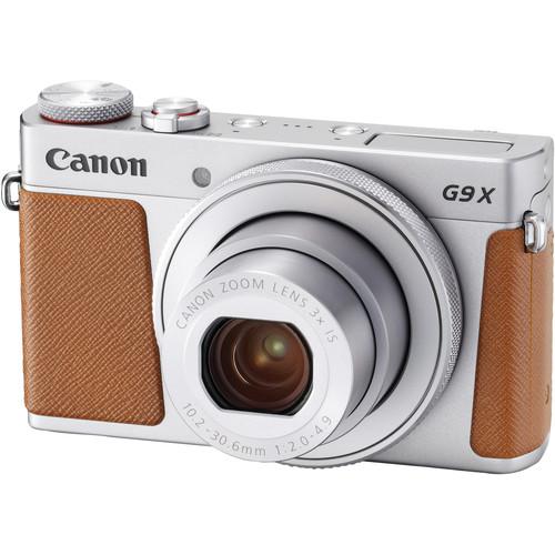 Canon POWERSHOT G9X Mark II (Silver) [Free 16GB SD Card]