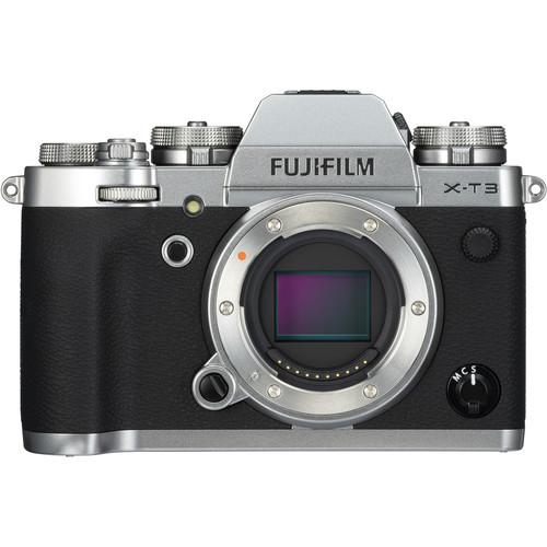 (CNY Deal) Fujifilm X-T3 (Silver) [Free 32GB SD Card UHS-II]