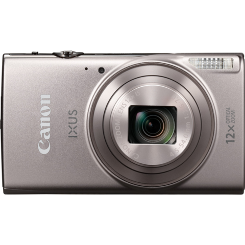 Canon Digital IXUS 285 (Silver) [Free 16GB SD Card + Camera Case]