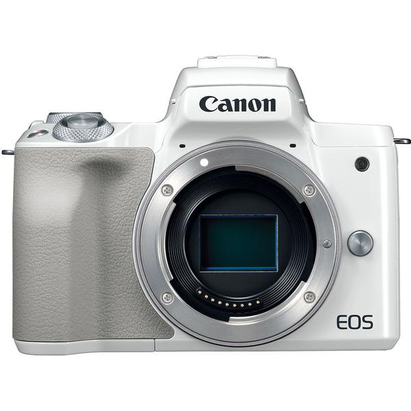(CNY Offer) Canon EOS-M50 Mirrorless Digital Camera - Body Only (White) [Free 32GB SD Card + Camera Bag]