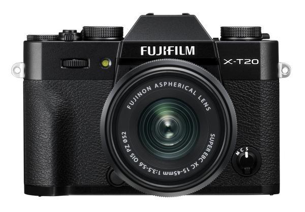 Fujifilm X-T20 (Black) + XC 15-45mm f/3.5-5.6 OIS PZ [Free 32GB SD Card & NP-W126S Battery)