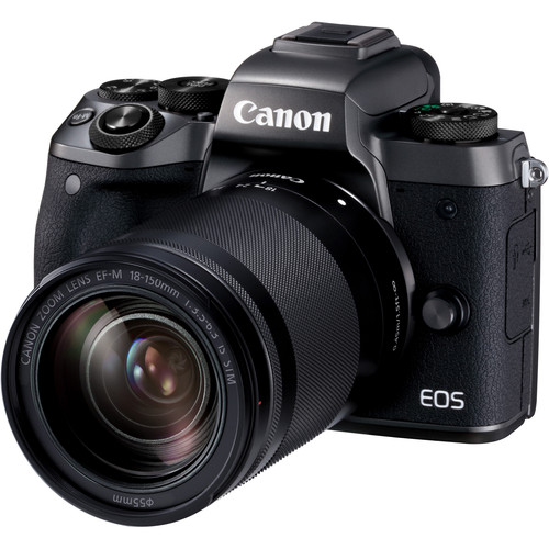 Canon EOS-M5 + EF-M 18-150mm F/3.5-6.3 IS STM [Free 16GB SD Card + Camera Bag]