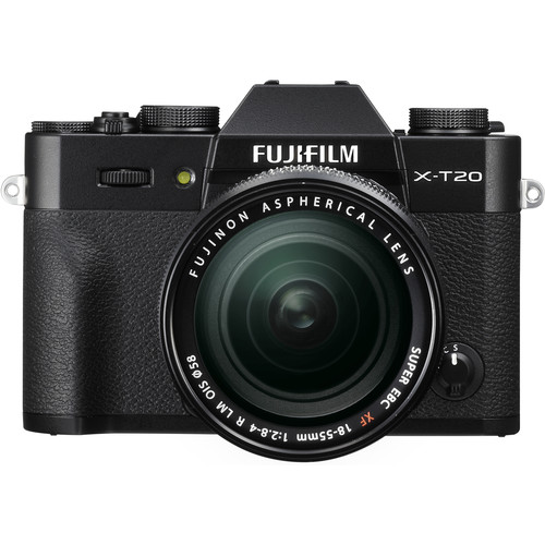 Fujifilm X-T20 (Black) + XF 18-55mm f/2.8-4R LM OIS [Free 32GB SD Card & NP-W126S Battery)
