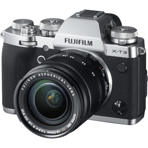 Fujifilm X-T3 + XF 18-55mm f/2.8-4R LM OIS (Silver) [Free 32GB SD Card UHS-II]