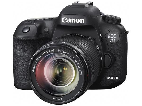 Canon EOS 7D Mark II + EF-S 18-135mm F/3.5-5.6 IS USM Lens + Canon W-E1 WIFI