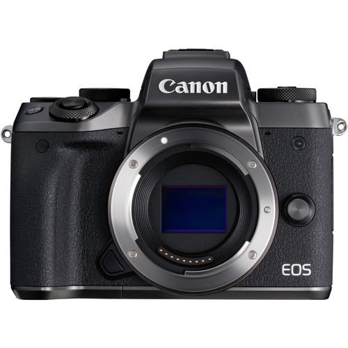 Canon EOS-M5 Mirrorless Digital Camera (Body) [Free 16GB SD Card + Camera Bag]