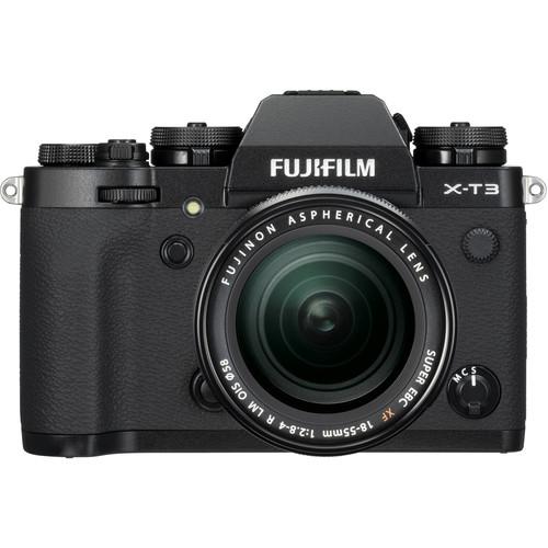 (CNY Deal) Fujifilm X-T3 + XF 18-55mm f/2.8-4R LM OIS (Black)