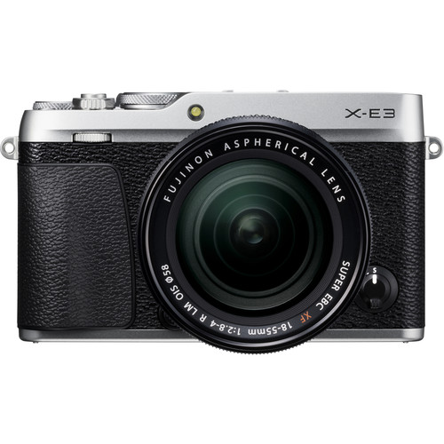 Fujifilm X-E3 + XF 18-55mm f/2.8-4R LM OIS (Silver) [Free 32GB SD Card]