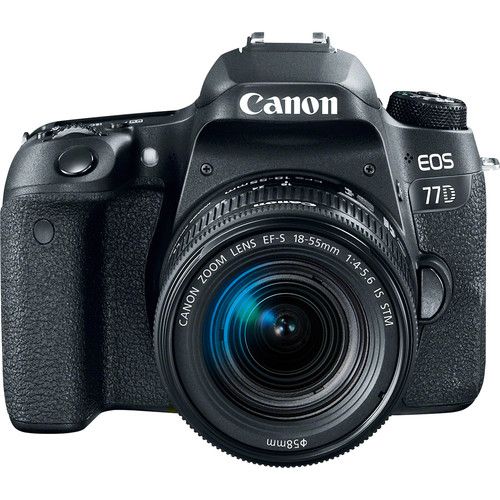 Canon EOS 77D + EF-S 18-55mm F/3.5-5.6 IS STM Lens