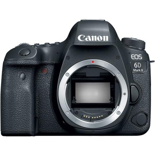 (Great Deals) Canon EOS 6D Mark II (Body) [Free SanDisk ExtremePro 64GB SD Card + CS100]