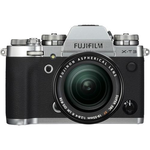 (CNY Deal) Fujifilm X-T3 + XF 18-55mm f/2.8-4R LM OIS (Silver)