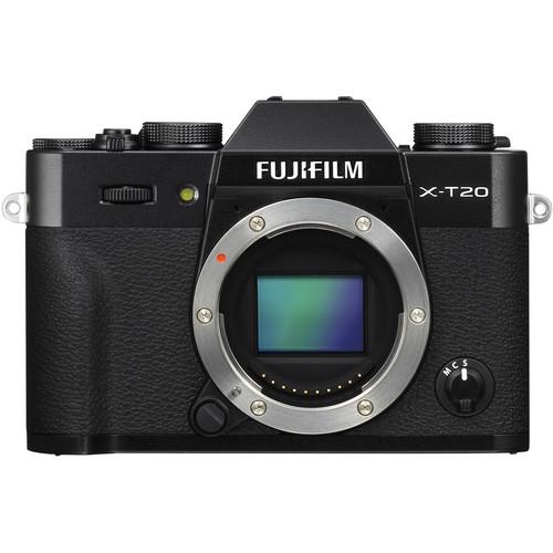 Fujifilm X-T20 (Black) [Free 32GB SD Card & NP-W126 Battery]