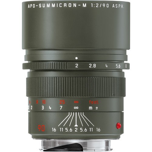 Leica 90mm F2 APO-Summicron-M ASPH. - SAFARI EDITION (11705)