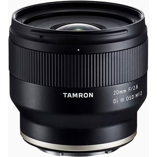 (Promotion) Tamron 20mm f/2.8 Di III OSD M 1:2 Lens for Sony E