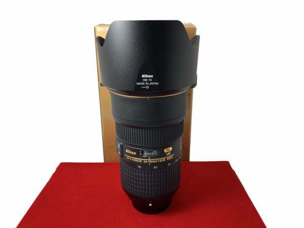 [USED-PJ33] Nikon 24-70MM F2.8E AFS VR ED Lens, 95% Like New Condition (S/N:2102405)