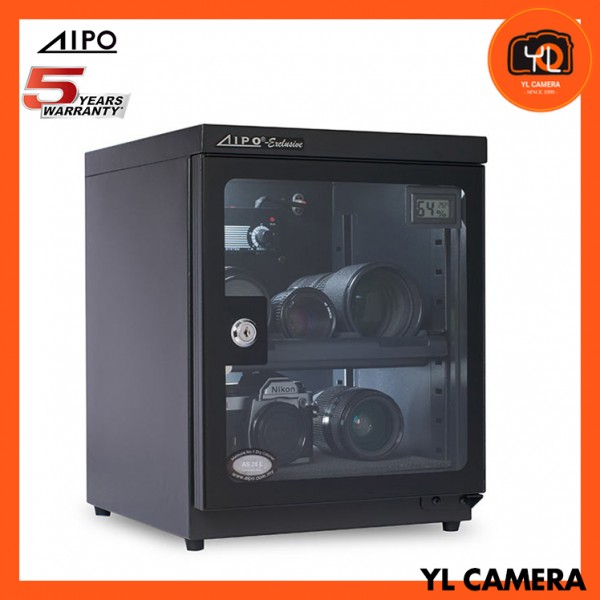 AIPO Analog Series AS-31 Dry Cabinet (31L) with Digital Display - Black