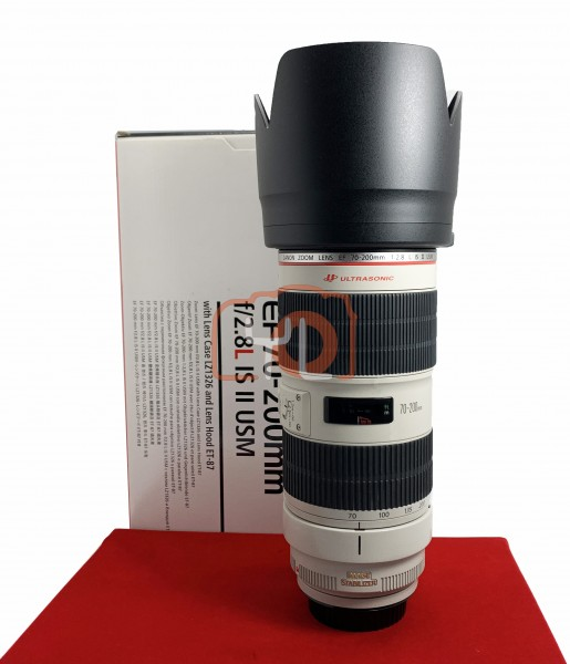 [USED-PJ33] Canon 70-200mm F2.8 L IS II USM EF, 90% Like New Condition (S/N:146470)