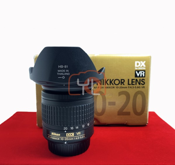 [USED-PJ33] Nikon 10-20mm F4.5-5.6 G AFP VR, 95% Like New Condition (S/N:262874)