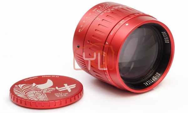 TT Artisan M50mm F0.95 - Red Ox PRE ORDER PRICE (Leica M-Mount)