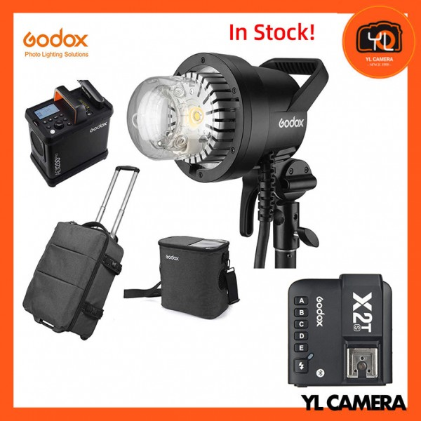 Godox AD1200Pro Battery Powered Flash System With Godox X2 2.4 GHz TTL Wireless Flash Trigger for Sony Combo Set
