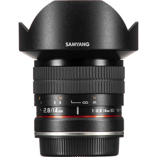 Samyang 14mm F2.8 ED AS IF UMC Lens for Canon EF with AE Chip