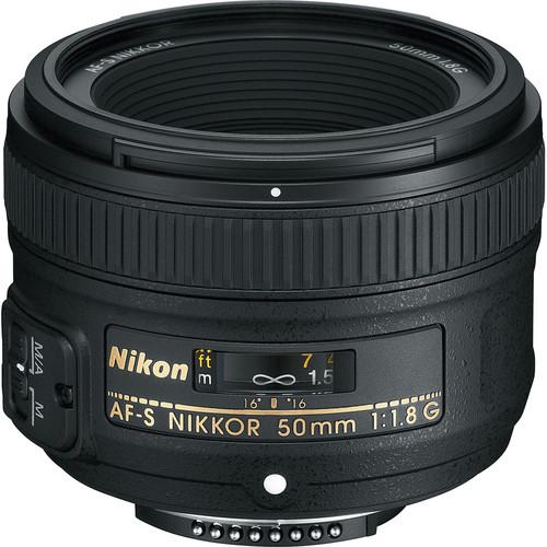 Nikon 50mm F1.8G AF-S