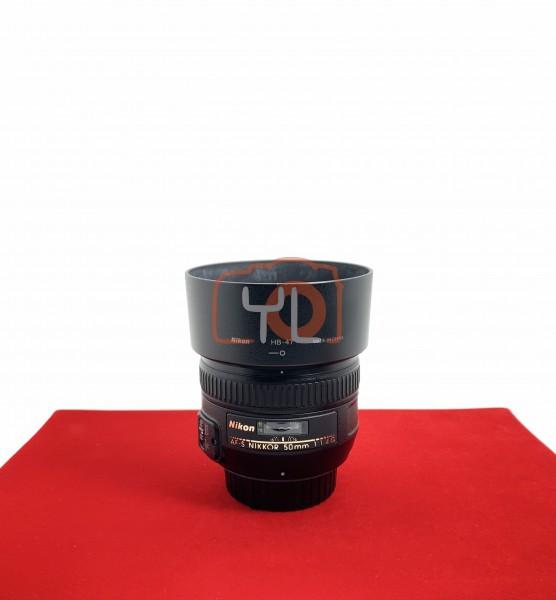 [USED-PJ33] Nikon 50MM F1.4 G AFS, 95% Like New Condition (S/N:761496)