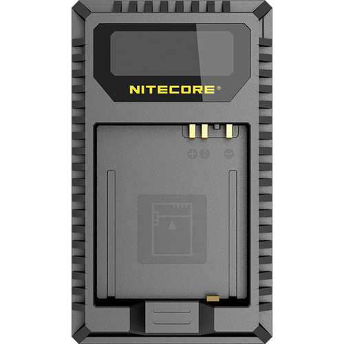 Nitecore UL109 Dual-Slot USB Charger for Leica BP-DC15-E Battery