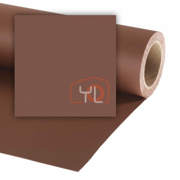Colorama Paper Background 2.72 x 11m Peat Brown