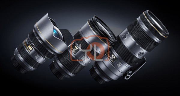 Nikon 100th Anniversary F2.8 Triple Zoom Lens Set - Limited Edition