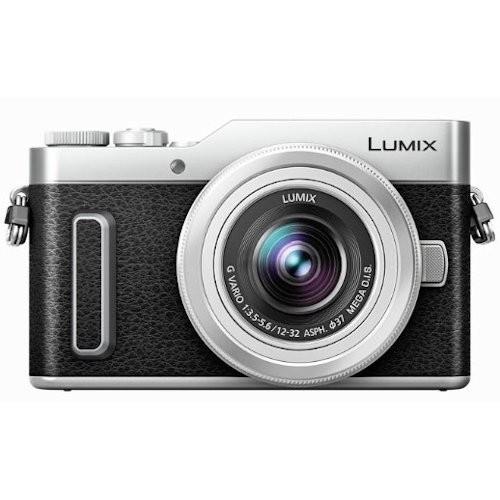 Panasonic Lumix DC-GF10 W/12-32mm (Silver) (FREE Extra Battery Redeem Online)