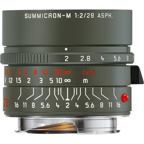 Leica 28mm F2 Summicron-M ASPH. - SAFARI EDITION (11704)
