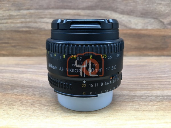 [USED @ YL LOW YAT]-Nikon AF 50mm F/1.8 D Lens,90% Condition Like New,S/N:2735453