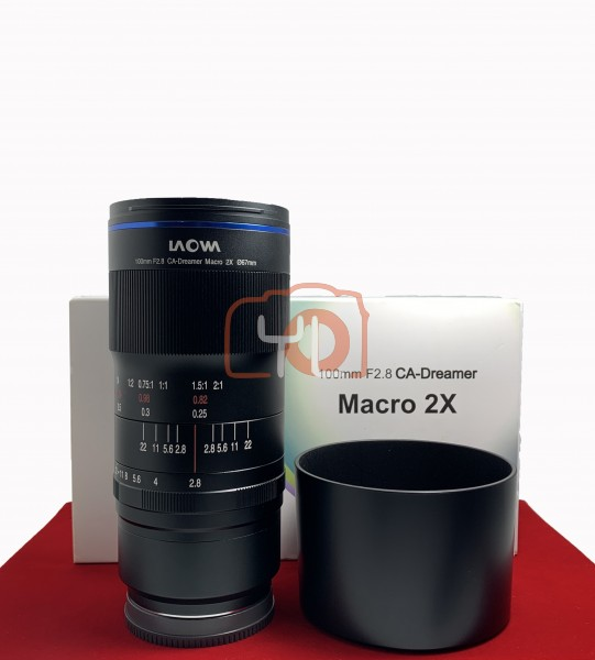 [USED-PJ33] Laowa 100mm f/2.8 2X Ultra Macro APO Lens (Sony E), 95% Like New Condition (S/N:004759)