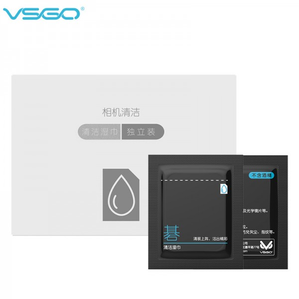 VSGO V-T01 Anti Bacteria Screen Cleaning Tissue (60Pcs)