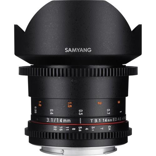 Samyang 14mm T3.1 VDSLRII Cine Lens for Olympus Four-Thirds