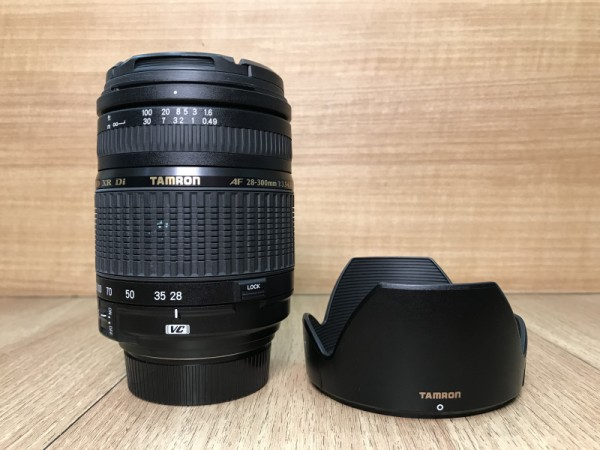 [USED @ YL LOW YAT]-Tamron AF 28-300mm F3.5-6.3 IF XR DI Lens For Nikon,90% Condition Like New,S/N:013682