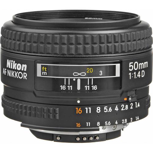 (Special Deal) Nikon 50mm F1.4 AFD Lens