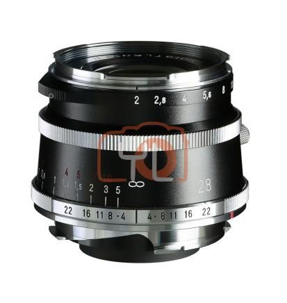 Voigtlander 28mm F2 Ultron Vintage Aspherical VM Lens Type I - Black (For Leica M-Mount)