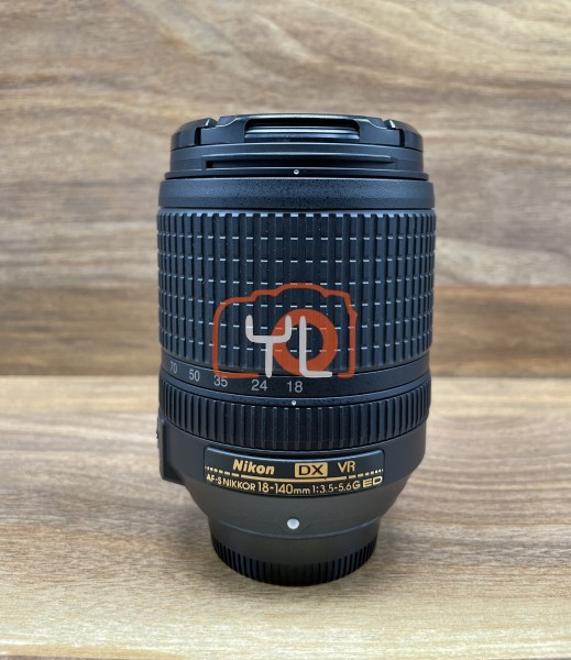 [USED @ YL LOW YAT]-Nikon AF-S 18-140mm F3.5-5.6 G ED VR DX Lens,95% Condition Like New,S/N:30211959