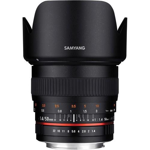 Samyang 50mm F1.4 AS UMC Lens for Nikon F