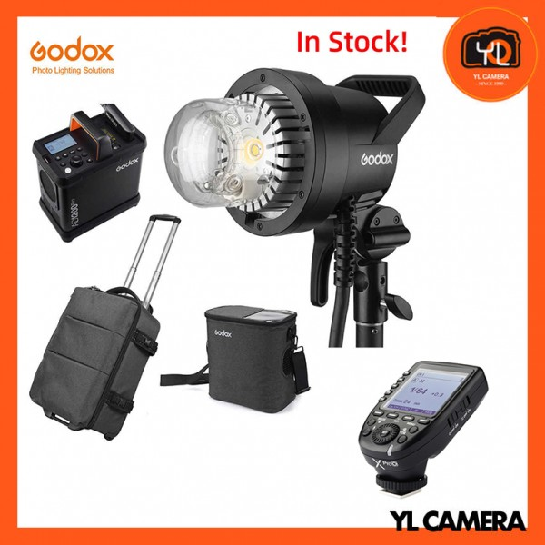 Godox AD1200Pro Battery Powered Flash System With XPro TTL Wireless Flash Trigger for Olympus/Panasonic Combo Set