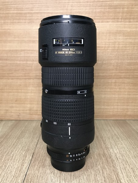 [USED @ YL LOW YAT]-Nikon 80-200mm F2.8 AF D III ED Lens,90% Condition Like New,S/N:718232