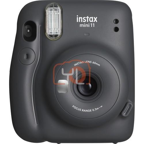 FUJIFILM INSTAX Mini 11 Instant Film Camera (Charcoal Gray)