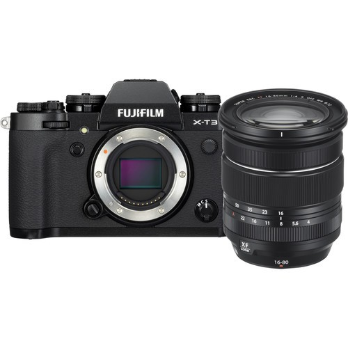 (CNY Deal) Fujifilm X-T3 + XF 16-80mm F4 R OIS WR - Black (Free 32GB SD Card UHS-II)