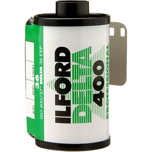 Ilford Delta 400 Professional Black and White Negative Film (35mm Roll Film, 36 Exposures)