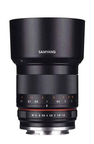 Samyang 50mm F1.2 Lens for Canon M (Black)