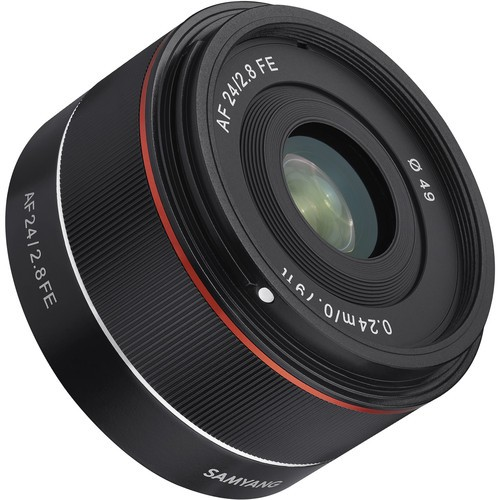 (October FLASH) Samyang AF 24mm f/2.8 FE Lens for Sony E