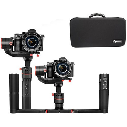 FeiyuTech A1000 3-Axis Handheld Gimbal Dual Handle Kit for DSLR/Mirrorless Camera